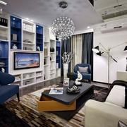 三室两厅组合电视柜欣赏