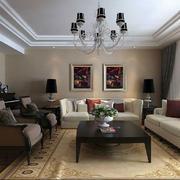 家装简约现代化的客厅装饰
