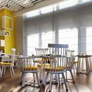 餐厅创意桌椅图