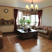家居客厅木质茶几展示