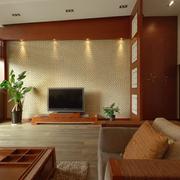 客厅简约电视背景墙
