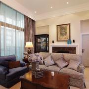 复式楼客厅沙发欣赏