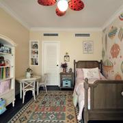 美式小卧室居室图
