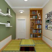 榻榻米书房小书柜