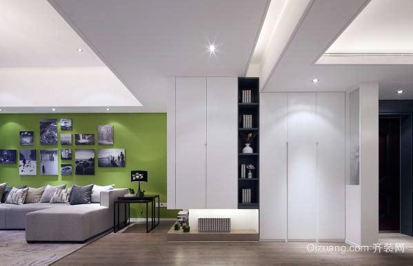 90平米两厅两室造价7万的现代简约房屋装修效果图