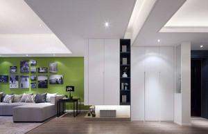 两室两厅走廊吊顶展示