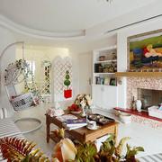 家居客厅美式田园图
