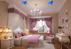 公主居住的儿童房