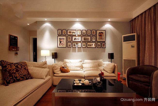 品味生活现代家居照片墙装修设计效果图