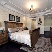 美式卧室壁纸图
