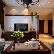 家居客厅电视背景墙设计