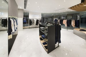 时尚品牌精品服装店装修效果图