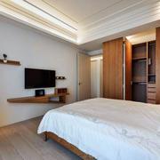 家居卧室电视架设计