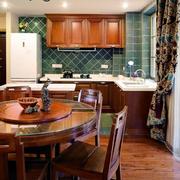 家居美式开放式厨房