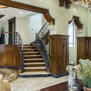 别墅大气楼梯
