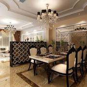 别墅简欧餐厅展示