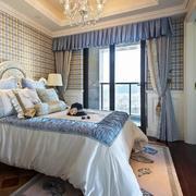 复式楼卧室典雅窗帘