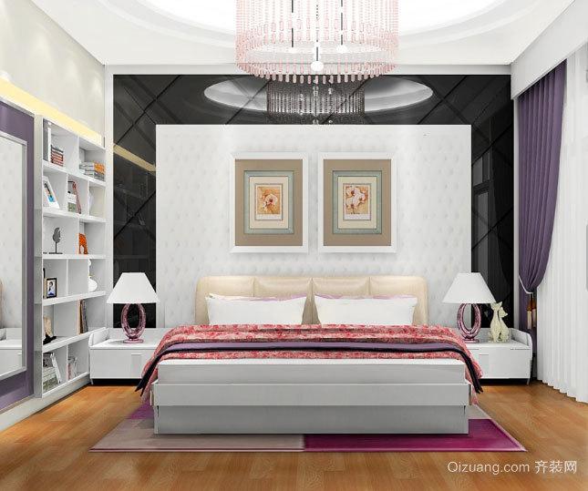小户型实用现代简约风格卧室装修效果图