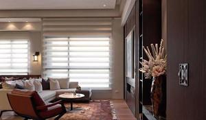 房屋客厅百叶窗设计