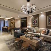 新中式风格客厅图