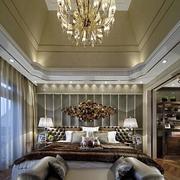 别墅奢华的卧室