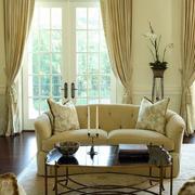 客厅凸显气质窗帘