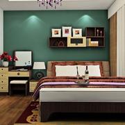 卧室床头置物架展示