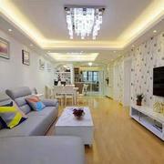 房屋客厅水晶吊灯