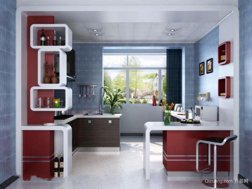 古典纯朴风格厨房装修效果图