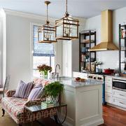 开放式厨房空间