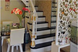 艺术感十足的阁楼楼梯装修效果图大全