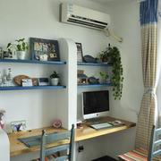 地中海书房装饰