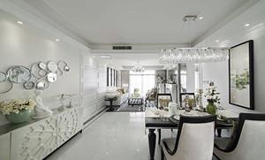 10万造价欧式简约低调奢华两室一厅装修效果图