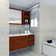 卫生间防水浴室柜图