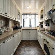 美式U型大厨房