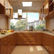 别墅欧式厨房橱柜