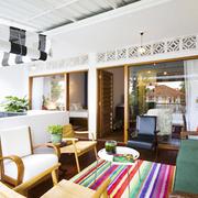 家居现代美式客厅