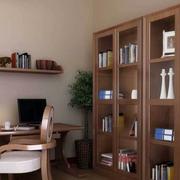 书房玻璃书柜图