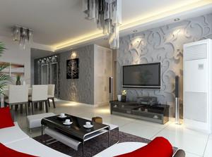 豪华都市单身公寓装修效果图鉴赏