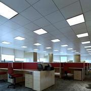 办公室简约铝扣板吊顶