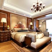 别墅大气卧室图