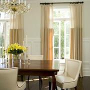 客厅优雅窗帘