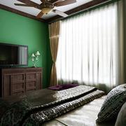 家居美式卧室图