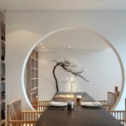 现代化的书房展示