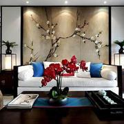 客厅中式画装饰