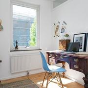 家居书房复古书桌图