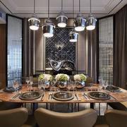 室内大户型餐桌