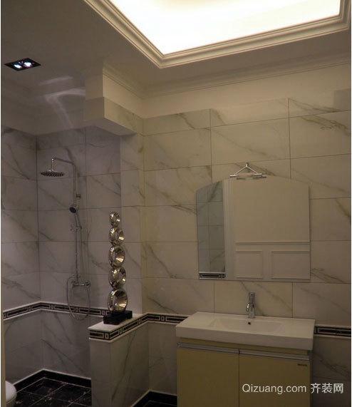2015别墅型卫生间马可波罗瓷砖装修效果图大全