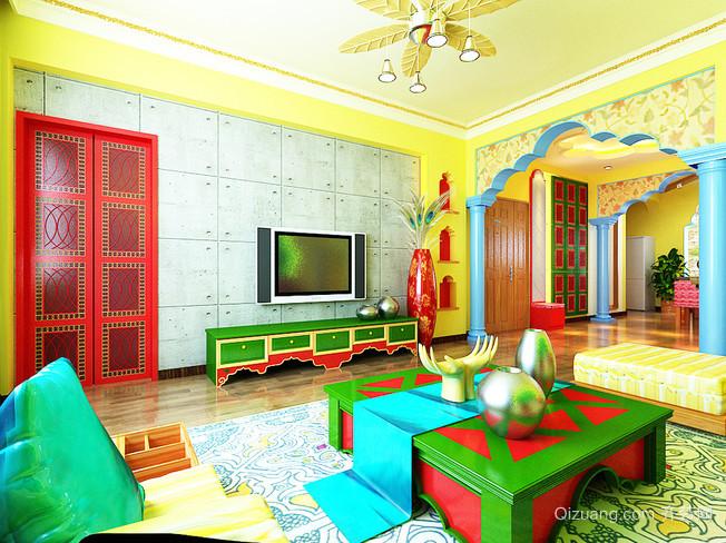 金碧辉煌的东南亚风格家居装修效果图鉴赏