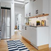 家居开放式小厨房展示